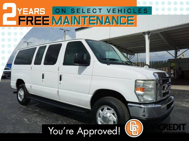 Pre-Owned 2011 Ford E-Series Wagon E-350 SD XLT