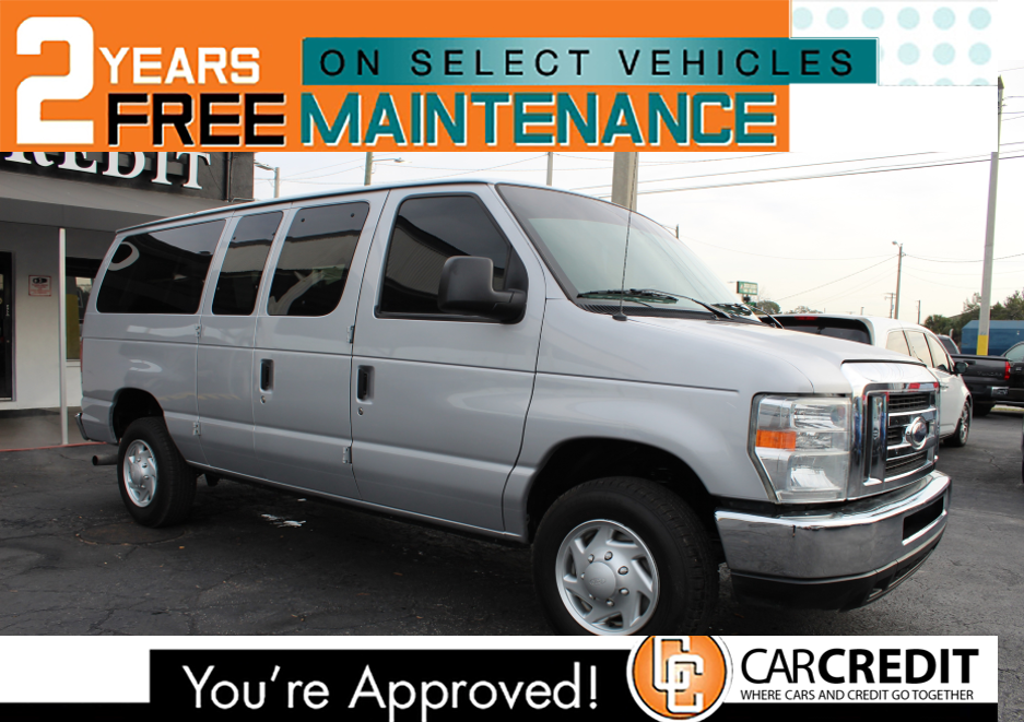 Pre-Owned 2014 Ford Econoline Wagon XL