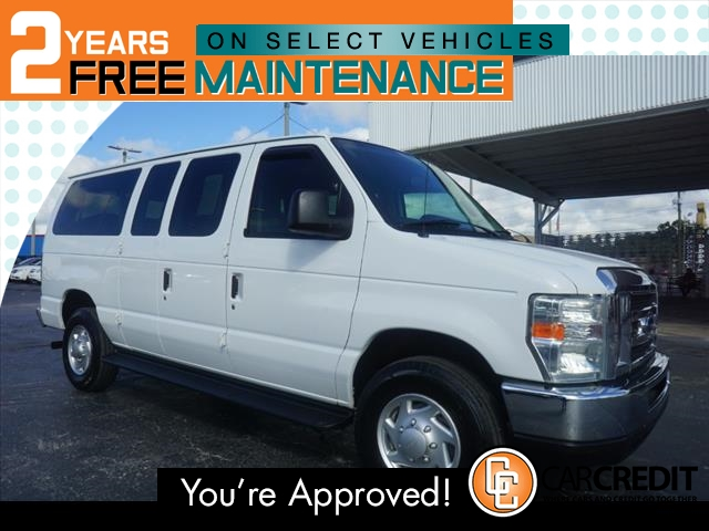 Pre-Owned 2012 Ford E-Series Wagon E-350 SD XL