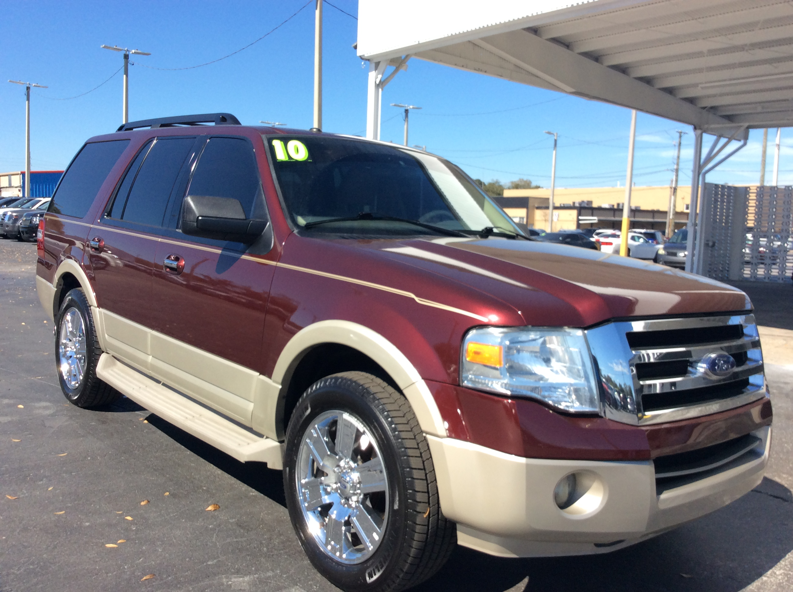 Pre-Owned 2010 Ford Expedition Eddie Bauer