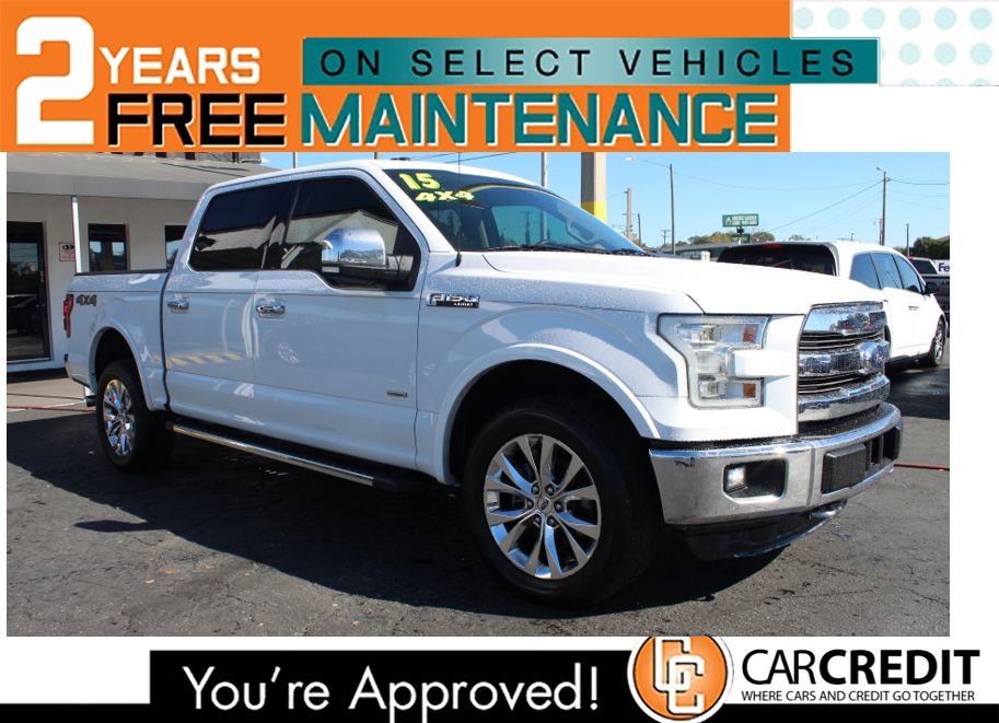 Pre-Owned 2015 Ford F-150 4X4 LARIAT