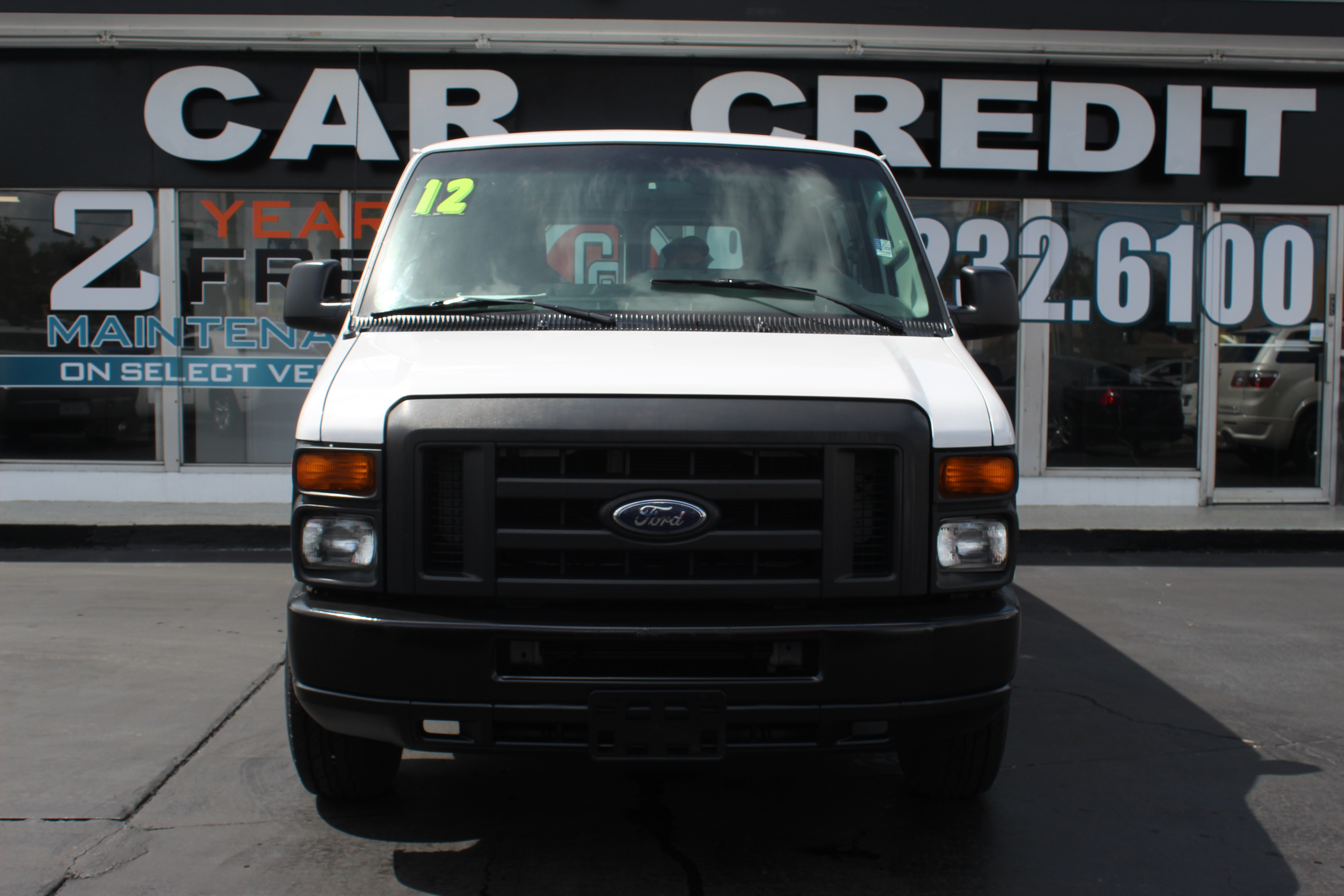 Pre-Owned 2012 Ford Econoline Cargo Van