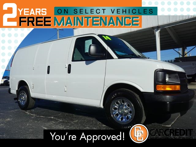 Pre-Owned 2014 Chevrolet Express Cargo 1500