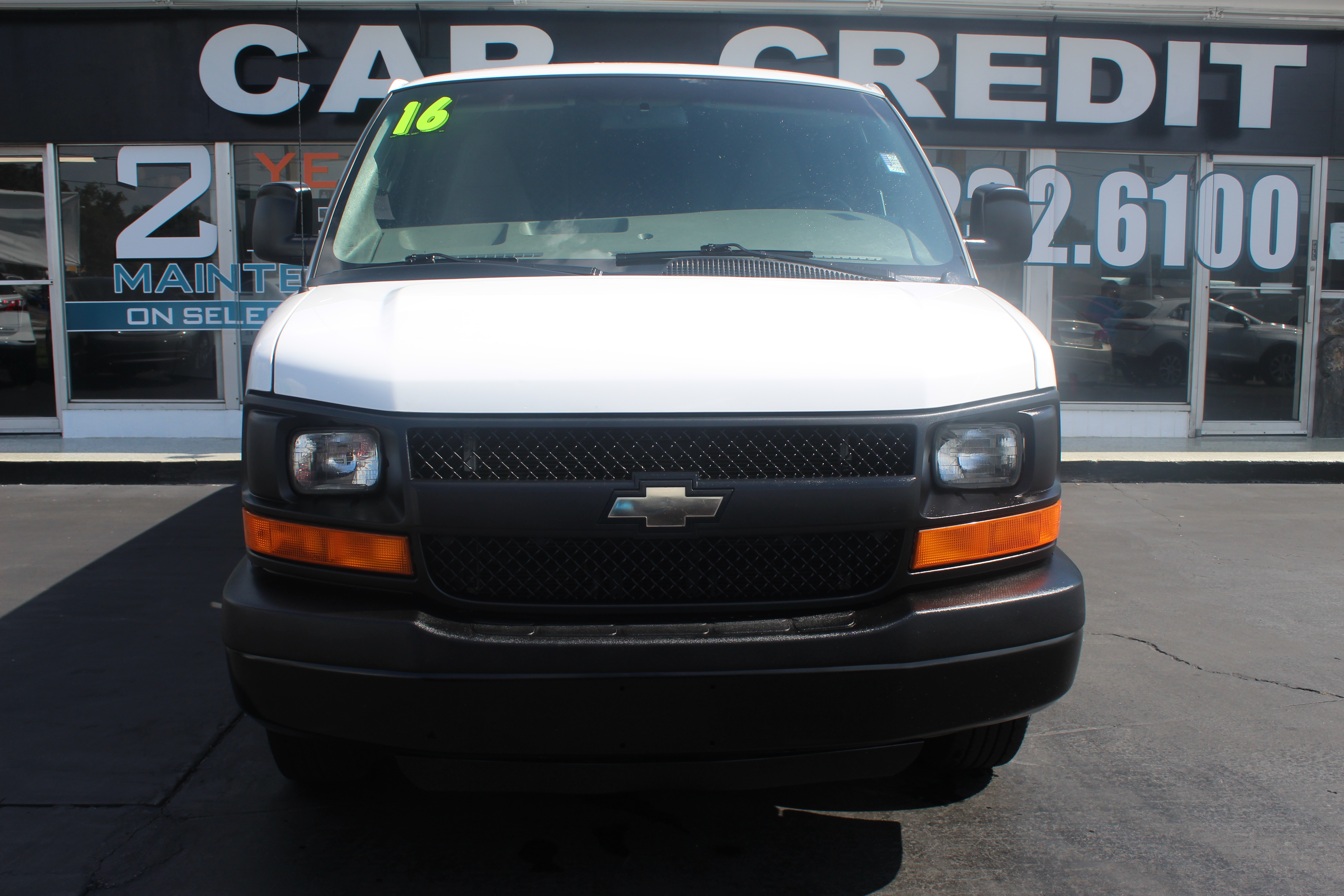Pre-Owned 2016 Chevrolet Express Cargo Van