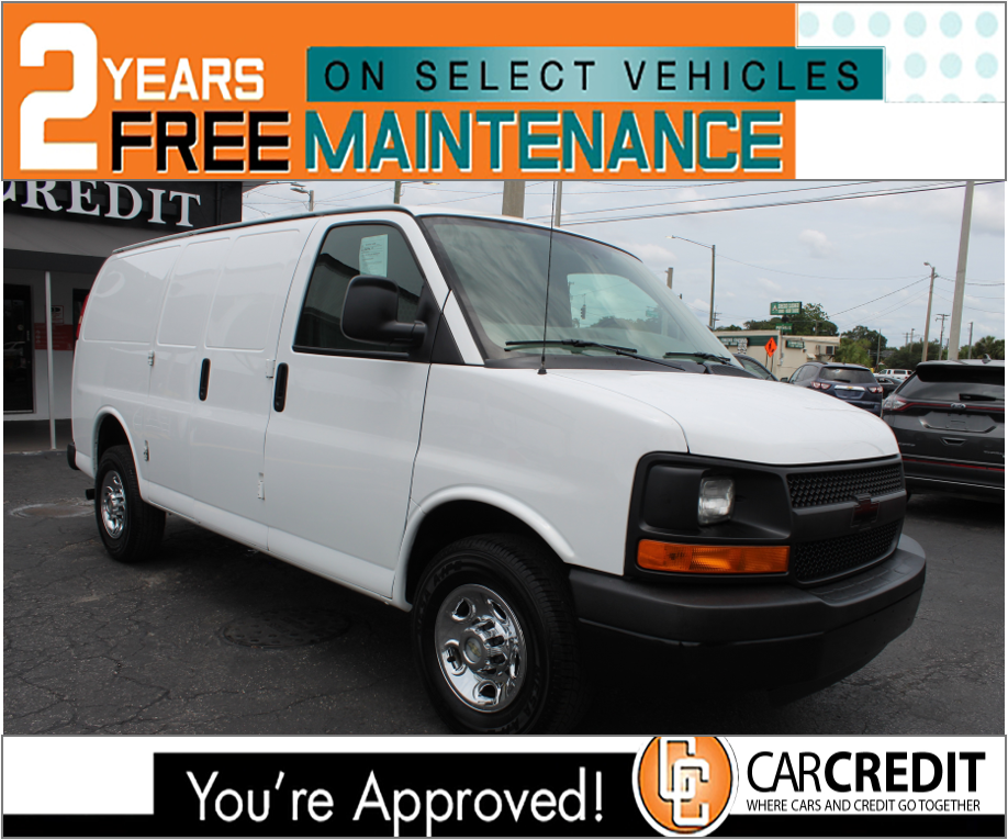 Pre-Owned 2014 Chevrolet Express Cargo Van