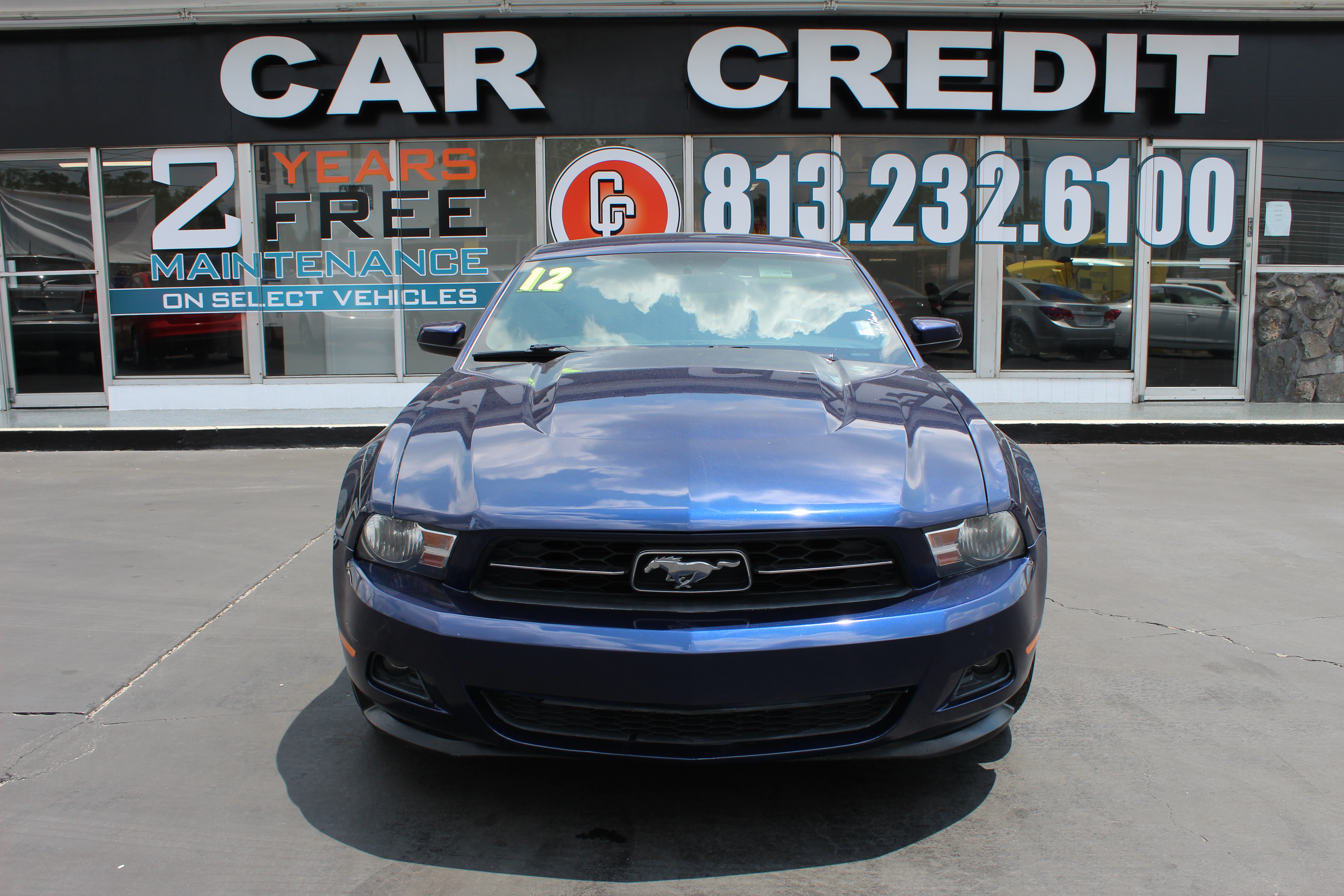 Pre owned 2012 ford mustang coupe