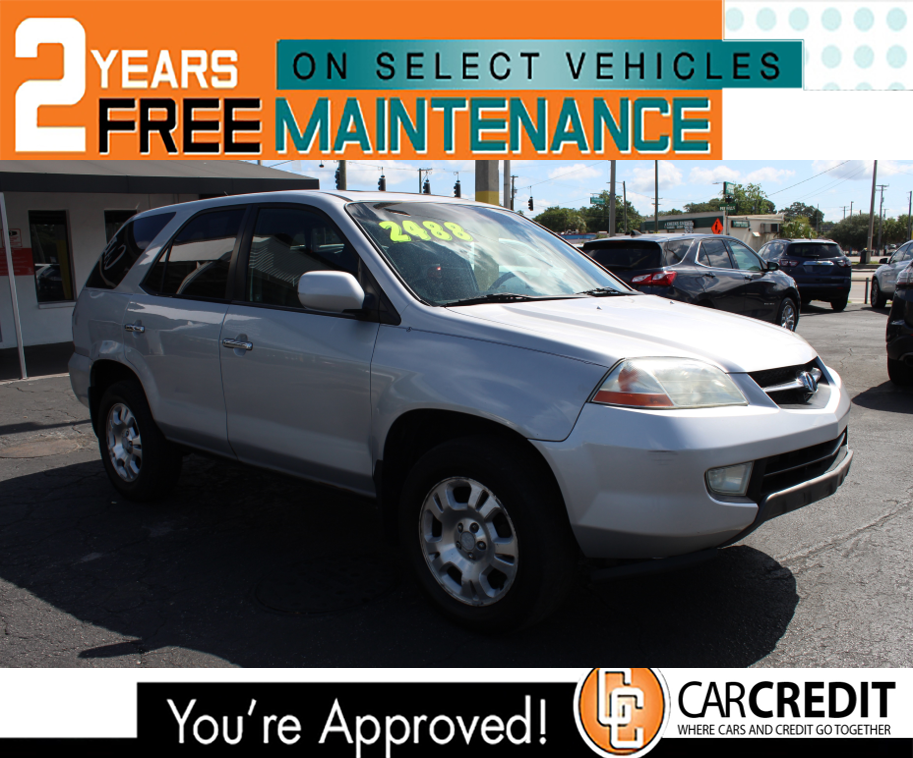 Pre-Owned 2001 Acura MDX 4 Wheel Drive Wagon 4 Dr.