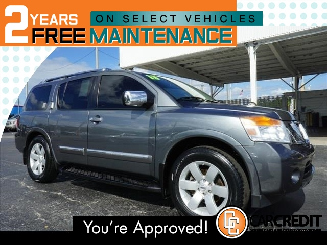 Pre-Owned 2013 Nissan Armada SL