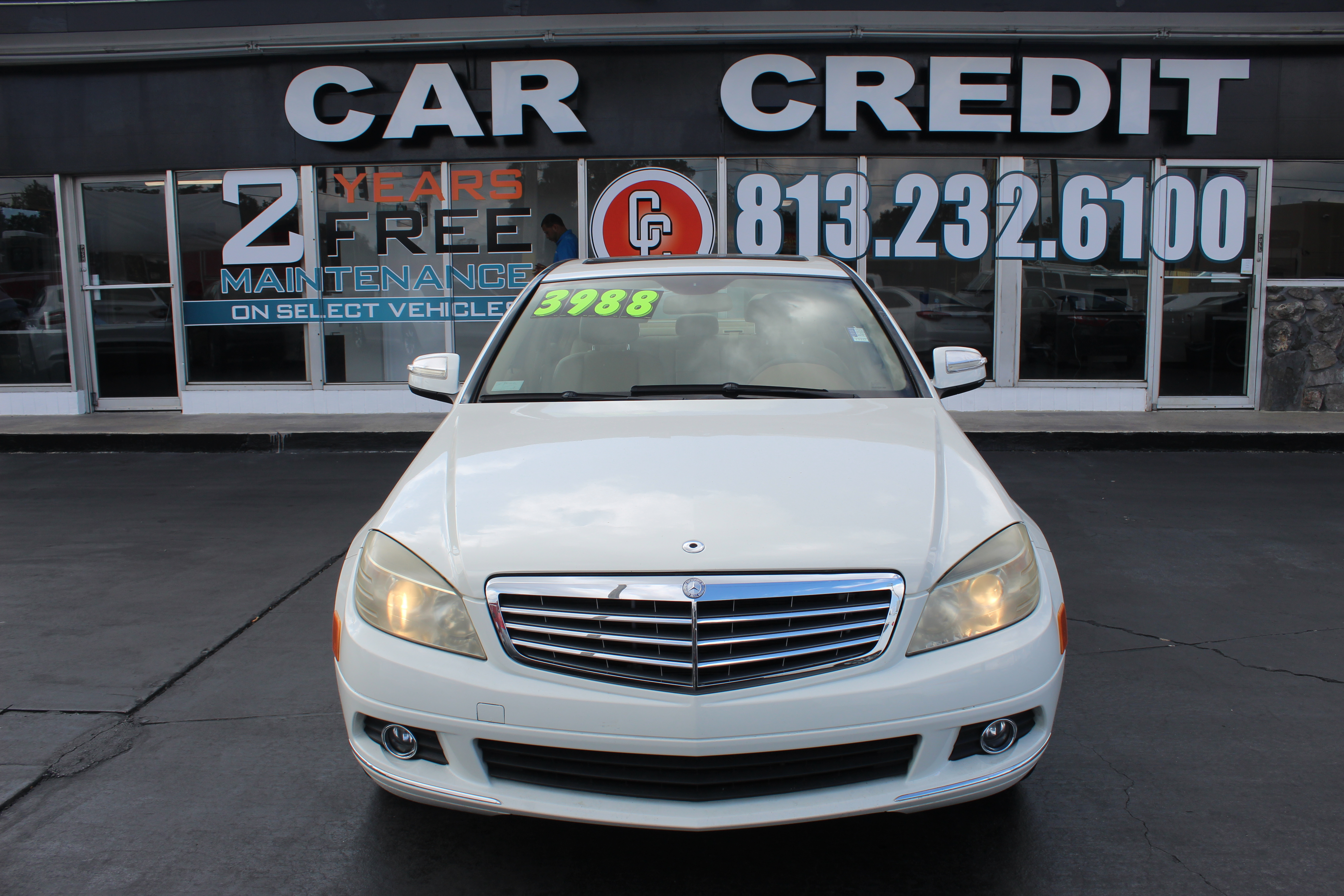 Pre-Owned 2008 Mercedes-Benz C-Class 3.0L Luxury