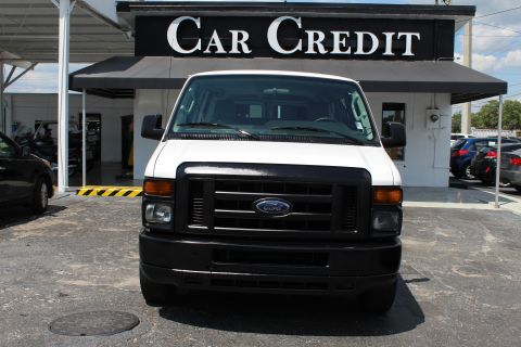 Pre-Owned 2012 Ford Econoline Wagon