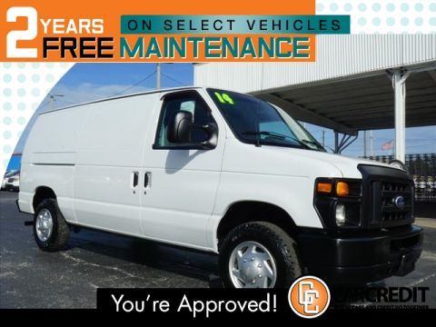 Pre-Owned 2014 Ford E-Series Cargo E-150
