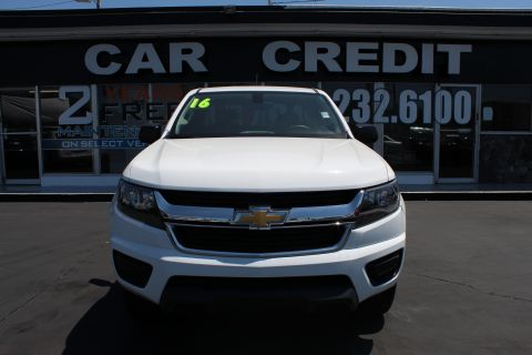 Pre-Owned 2016 Chevrolet Colorado 4WD WT