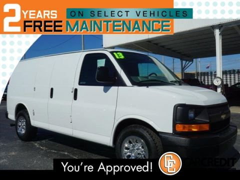 Pre-Owned 2013 Chevrolet Express Cargo 1500