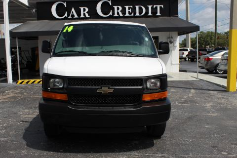 Pre-Owned 2014 Chevrolet Express Cargo Van STABILITRACK
