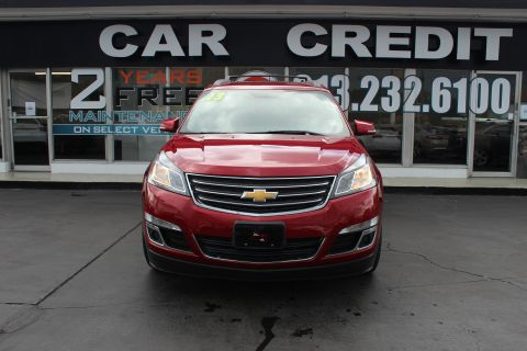 Pre-Owned 2013 Chevrolet Traverse LT