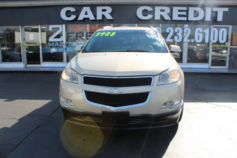 Pre-Owned 2010 Chevrolet Traverse LT w/2LT