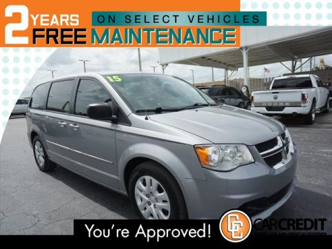 Pre-Owned 2015 Dodge Grand Caravan American Value Package
