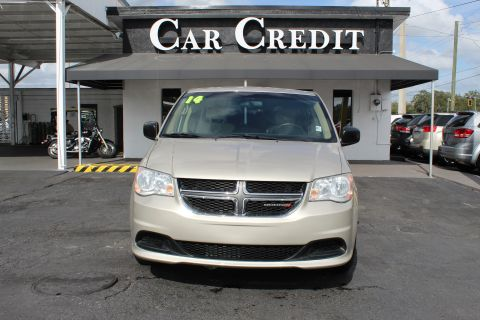 Pre-Owned 2014 Dodge Grand Caravan American Value Package