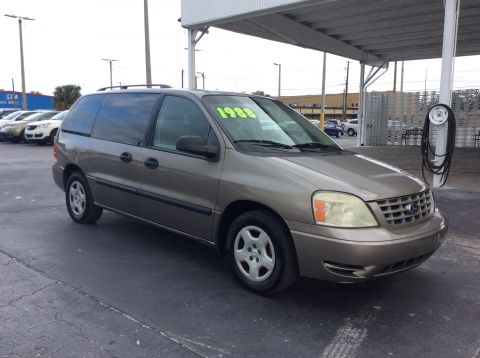 Pre-Owned 2005 Ford Freestar Wagon SE Front Wheel Drive Sports Van