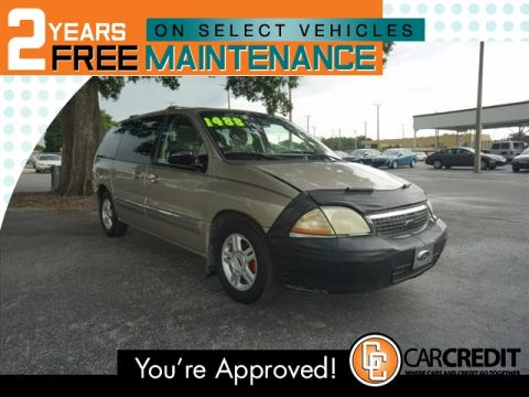 Pre-Owned 2002 Ford Windstar SE FWD Mini-van, Passenger