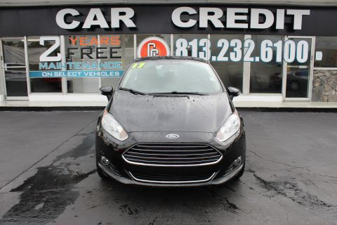 Pre-Owned 2017 Ford Fiesta Titanium