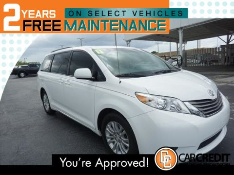 Pre-Owned 2011 Toyota Sienna XLE 7-Passenger