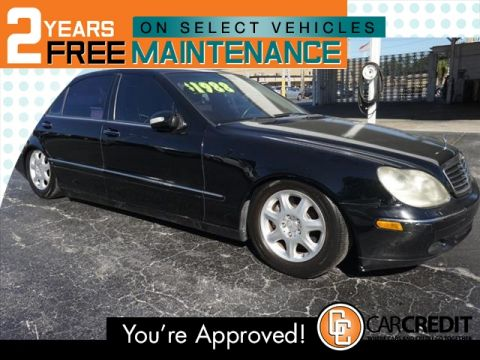 Pre-Owned 2001 Mercedes-Benz S-Class S 430 con navegación